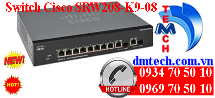 Switch Cisco SRW2008-K9-08